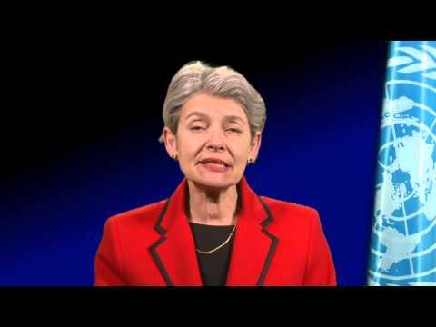 UNESCO Genel Direktörü Irina Bokova'nın Video Mesajı