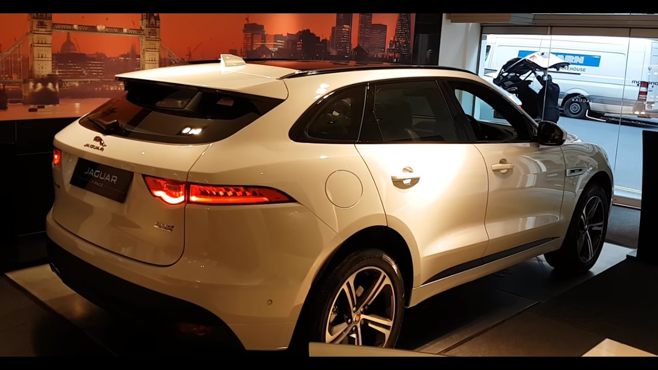 2016 2017 All New Jaguar F Pace Interior And Exterior Review