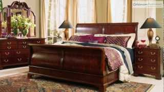 Cherry Grove  Sleigh Bedroom Collection From American Drew