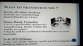 Online banking in ppt