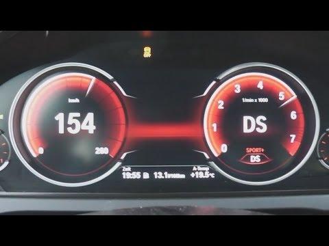2012 BMW 750i (F01) 450 HP 0-100 km/h Acceleration