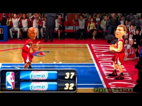 NBA 2012 - Los Angeles Clippers vs Los Angeles Clippers - 2nd Half - NBA JAM Online - HD