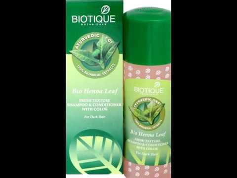 Bio Henna Leaf Biotique Henna Leaf Fresh Texture Shampoo