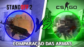 Standoff 2 Vs CS:GO - Comparação Das 4rmas | Hazard