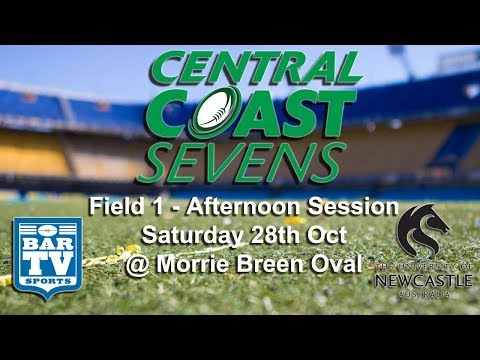 2017 Central Coast Sevens - Field 1 Afternoon session