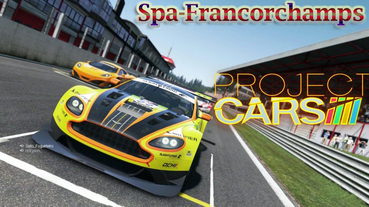 Circuito Spa : Project cars: circuito de spa francorchamps com aston martin v12