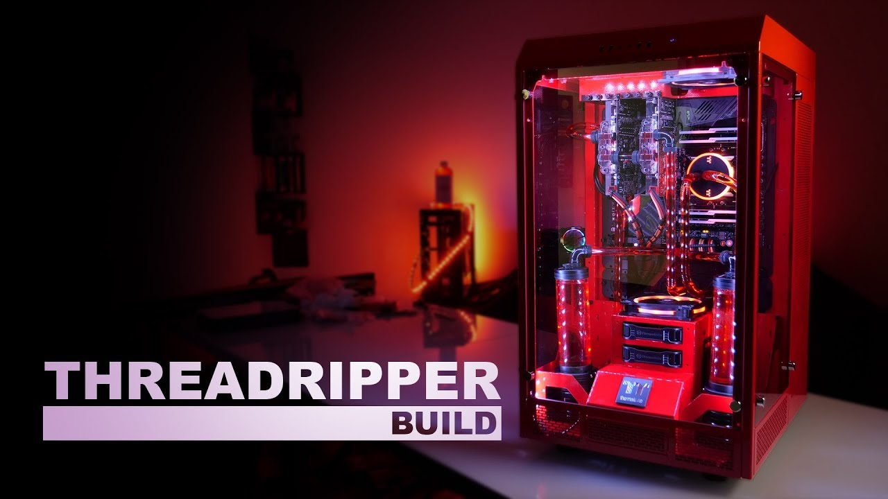 Thermaltake Threadripper Build Youtube