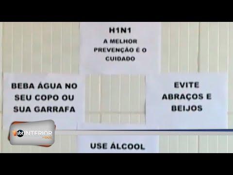 Secretaria de Saúde confirma 10 casos de H1N1 em Santa Fé do Sul