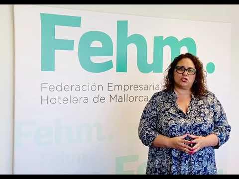 La vicepresidenta ejecutiva de la FEHM, María José Aguiló
