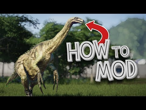 How to add Mods to Jurassic World Evolution! - Tutorial
