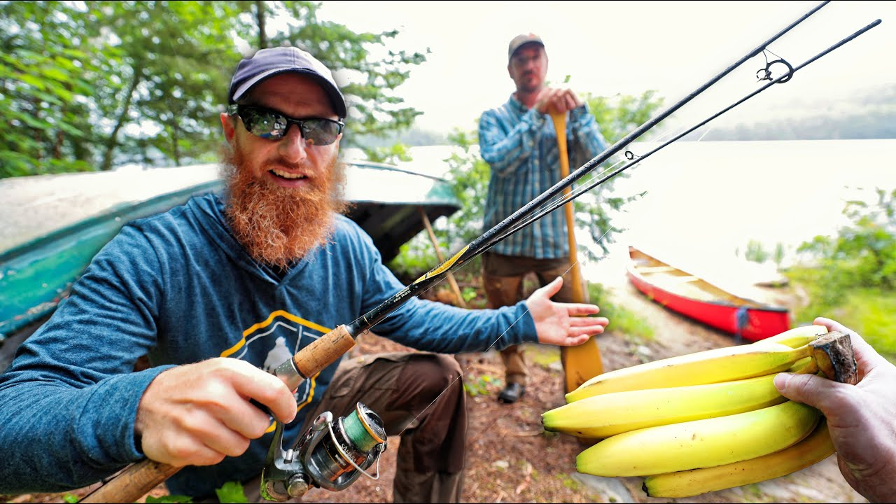 """Deep Woods Remote Fishing Adventure (in the Far North!) """"There's a Banana on the Boat!"""""""