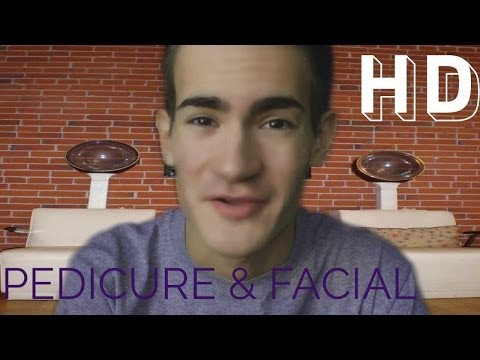 Pedicure & Facial at the Nail Salon RP (3D Binaural ASMR)