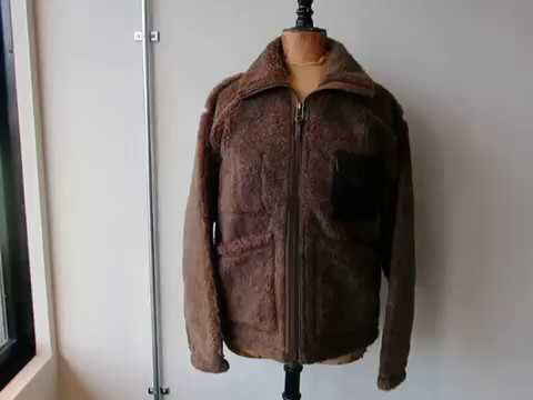 e6ff55c7c29d KARBE動画~ NIGEL CABOURN 40s PILE JACKET (WOOL ALPACA) - YouTube