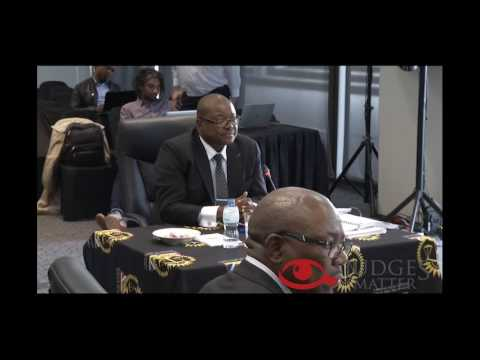 JSC interview of Mr G N Moshoana for the Labour Court (Judge