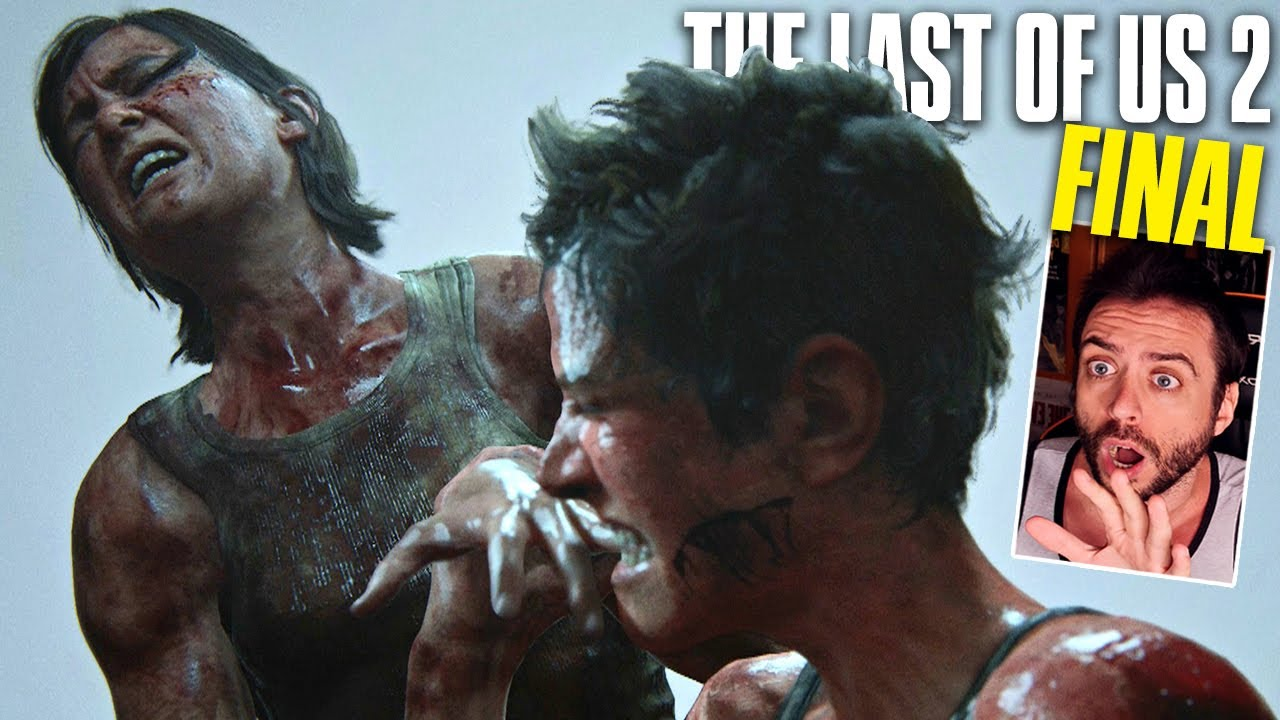 THE LAST OF US 2 FINAL DEFINITIVO - Ellie VS Abby *DRAMA ABSOLUTO*