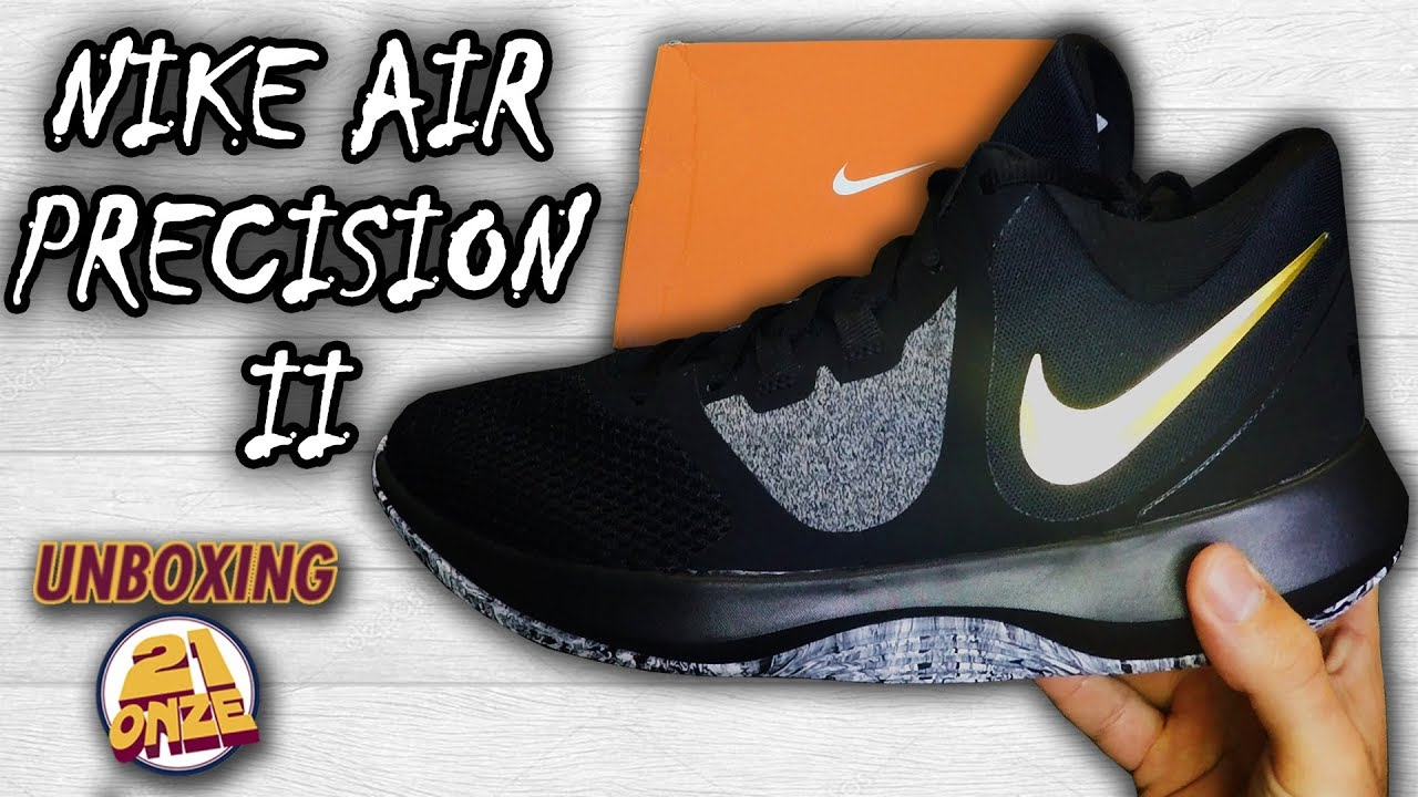 487aa8a6a82ab Unboxing Nike Air Precision II - YouTube