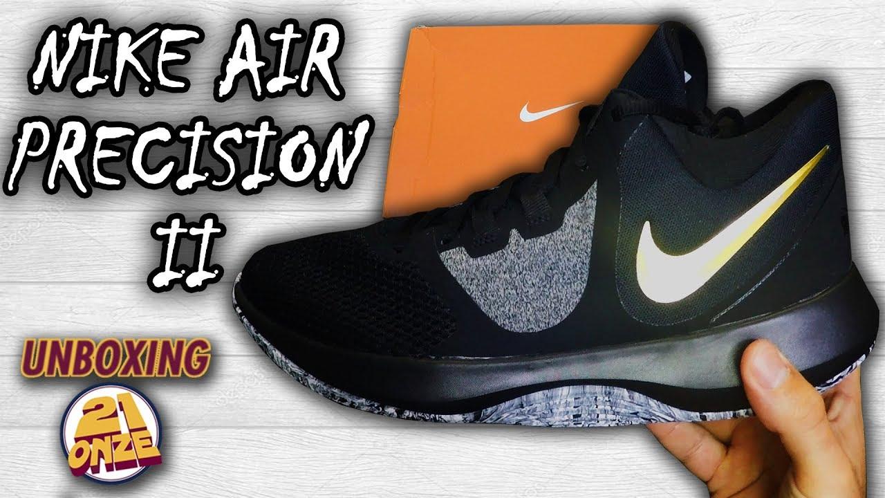 7d7329cc5e Unboxing Nike Air Precision II - YouTube