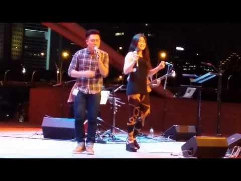 My Boo (Usher & Alicia Keys) - @ Esplande SPH Gift of Music 2013
