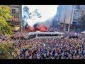 ألتراس ريال مدريد يستقبل حافلة النادى في أجواء خيالية قبل ملحمة كروية ضد بايرن  مي�