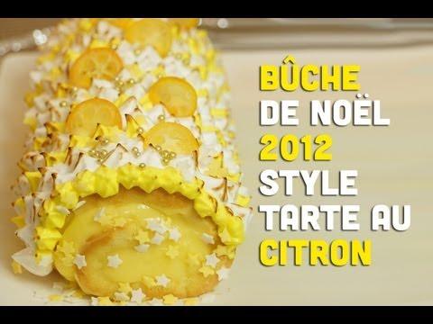 recette-:-bûche-de-noël-au-citron-meringuée