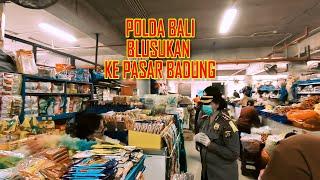 Polda Bali Blusukan Ke Pasar Badung