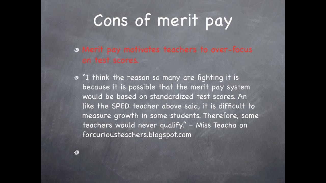 how to calculate merit pay