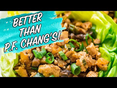 Asian Lettuce Wraps - COPYCAT P.F. CHANG'S!