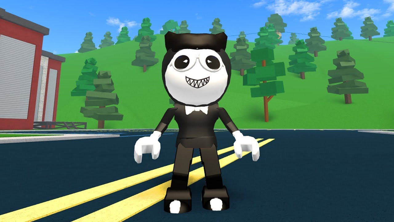 HOW TO BE BENDY IN ROBLOXIAN HIGHSCHOOL!!