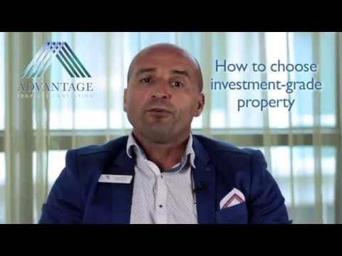 Investor Tips - How to choose investment-grade property