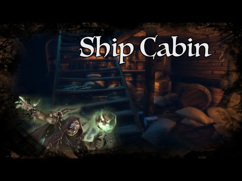 D&D Ambience - Ship Cabin
