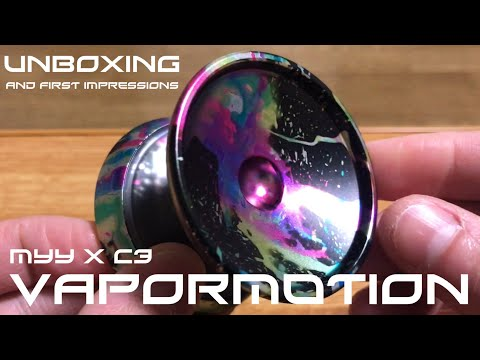 Magic Yoyo X C3yoyodesign Vapormotion Unboxing And First Impressions