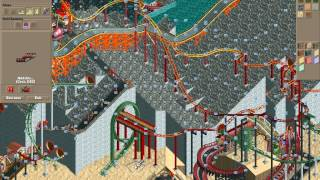 Rollercoaster Tycoon Loopy Landscapes #18 (Volcania: Two down, three to go)