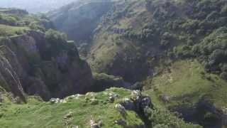 Cheddar Gorge-ous 4k Phantom 3 Aerial Video UAV Drone