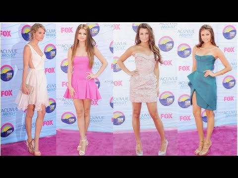 Selena Gomez Fashion, Teen Choice Awards, Fab Flash
