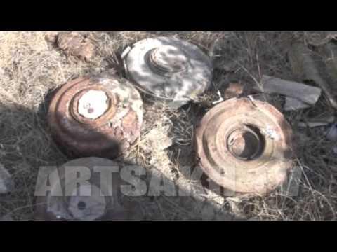 Ասկերանի շրջանի Իվանյան համայքի տարածքում երեկ վնասազերծվել է ևս մեկ միավոր չպայթած  զինամթերք