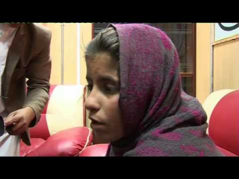 AFGHANISTAN DETAINED GIRL