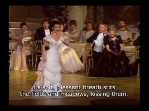 Natalie Dessay  Voices of SpringFrühlingsstimmenwaltzer  Johann Strauss  English Subtitles