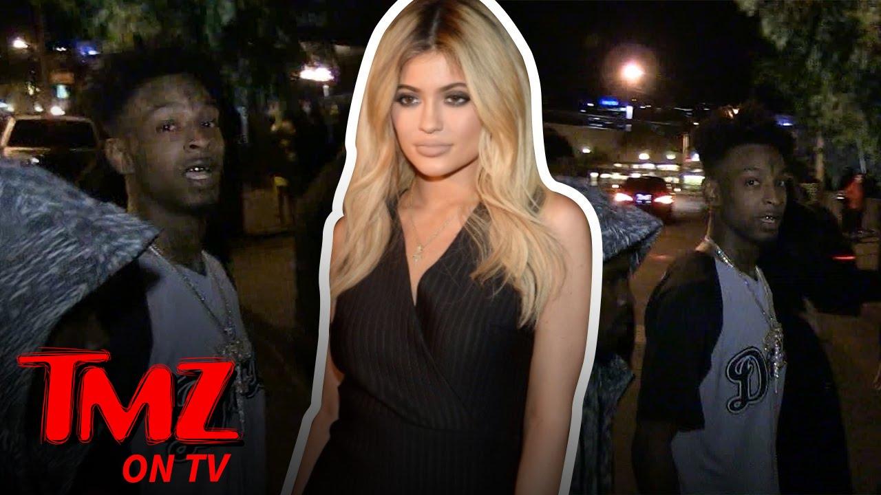 Rapper 21 Savage Wants Kylie Jenner's A**   TMZ TV