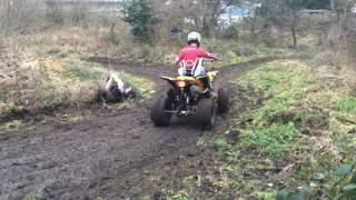Yakuza 200cc big raptor quad bike mud play fun