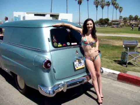 Edsel Ford Courier Classic Cars With Swimsuit Model Alex