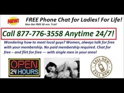 Free 24 7 Phone Singles Chat