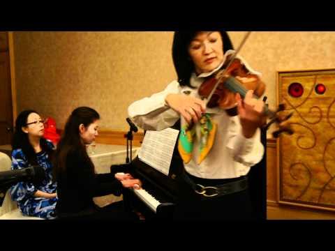 20110109建蒲&珊彤歸寧-小提琴/中村 靜香;鋼琴伴奏/渡邊 知子