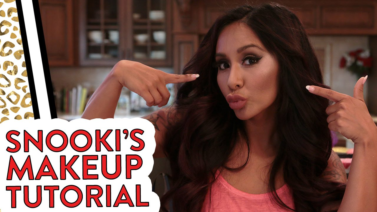 Nicole Snookis Behind The Scenes Makeup Tips With Joey Youtube