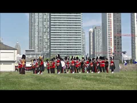 Fort York 48th Highlanders 125th Tattoo 2016 Part 4 of 5