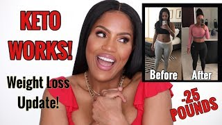 KETO WORKS! 10 MONTH WEIGHT LOSS UPDATE ON KETO DIET