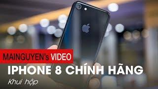Khui hộp iPhone 8 chính hãng Apple VN 64Gb & 256Gb - www.mainguyen.vn