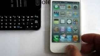 new style sliding standing bluetooth keyboard case for iphone 4 4s