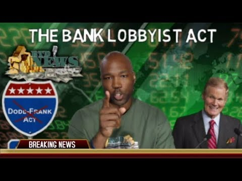 The Bank Lobbyist Act: Last Push To Get You Into More Debt