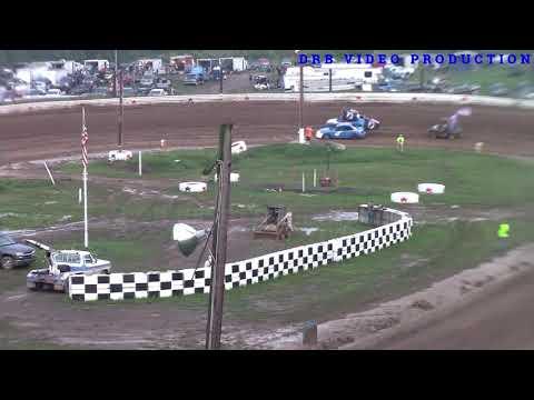 Hidden Valley Speedway 4 Cylinder U.S. FLAG 7/6/19