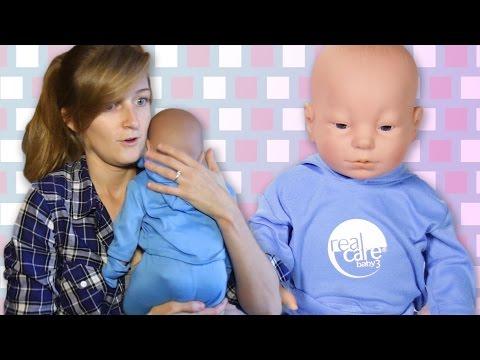 Engaged Couples Raise Robot Babies